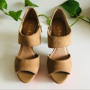 Wild Rose Platform Heels